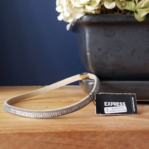 Express Bejeweled Choker w Magnetic Clamp